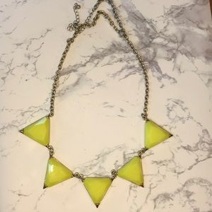 Urban Gem Cecily Necklace in Yellow